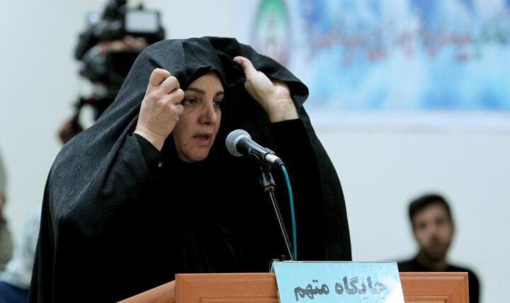 شبنم نعمتزاده با چادر در دادگاه حاضر شد: فیلم و تصاویر حواشی جزییات پرونده