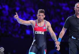 مشخص شدن قهرمانان ۳ وزن دوم کشتی فرنگی جهان/ مدال طلا برای کوبا، اوکراین و روسیه