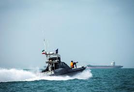 سپاه پاسداران یکی کشتی را در خلیج فارس توقیف کرد
