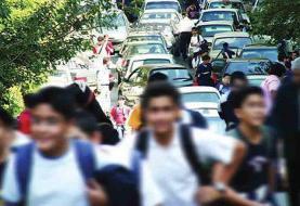 ۸۴۴ راننده سرویس مدرسه لیسانس هستند و برخی هم فوقلیسانس و دکتری!