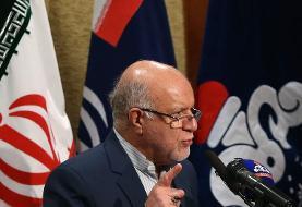 زنگنه: برداشت ایران از میدان مشترک گازی پارس جنوبی، از قطر بیشتر میشود