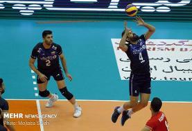 پیروزی تیم ملی والیبال ایران برابر چین در ست دوم