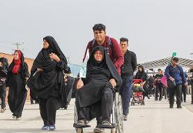 نرخ جابهجایی زائران اربعین ۹۸ در مرز مهران