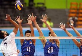 Asian Volleyball Championship: Iran 3-0 China