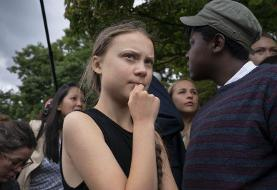 Teen activist to lawmakers: Forget praise, work on climate
