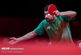 رقابت ملی پوشان تنیس روی میز ایران برای رتبه های پنجم الی هشتم