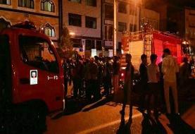 انفجار گاز شهری در یکی از محلات اردبیل با ۷ مصدوم