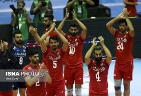والیبال قهرمانی آسیا/ ایران ۲ – چین صفر