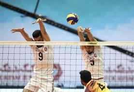 والیبال قهرمانی آسیا؛ ایران از سد چین گذشت