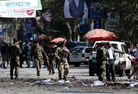 افغانستان مظلوم باز غرق در خاک و خون: عکس انفجار در نزدیکی کارزار انتخاباتی در کابل