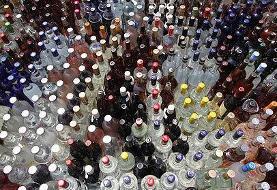 حراجی مشروبات الکلی در ورامین به نرخ هر بطری دلستری ۳۵ هزار تومان توسط پلیس جمع شد!