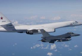 Belgian F-16s scrambled to intercept 2 Russian nuclear-capable supersonic bombers over the ...