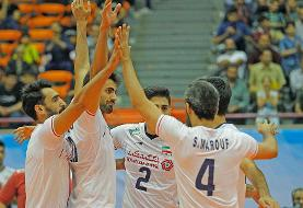 Iran defeats China in Asian Volleyball Cup