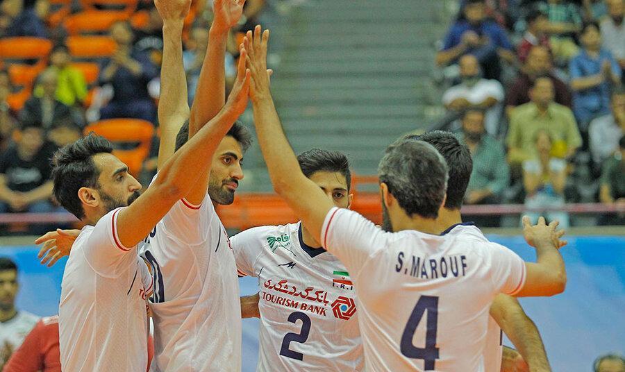 والیبال قهرمانی آسیا: ایران از سد چین گذشت