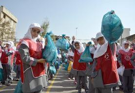 آموزش بازیافت به دانشآموزان منطقه ۱۹