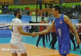 حریف تیم ملی والیبال ایران در مرحله سوم مشخص شد