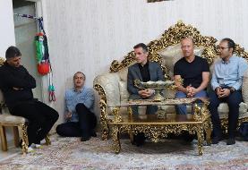 همدردی کالدرون با خانواده عماد: حاضر بودم پرسپولیس نمیبرد اما پسرتان زنده بود/عکس