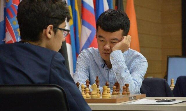 شکست فیروزجا از نفر سوم رنکینگ جهانی و حذف از جام جهانی شطرنج