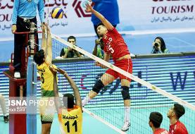ایران به نیمهنهایی مسابقات والیبال قهرمانی آسیا صعود کرد