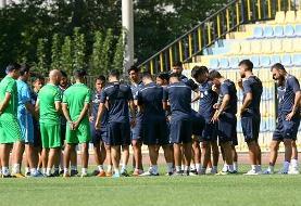 تمرینات استقامتی و فوتبال درون تیمی دستور کار استراماچونی