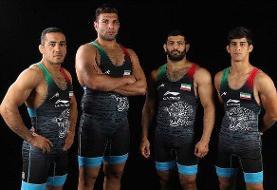 پایان تلاش آزادکاران چهار وزن دوم با دو مدال نقره و برنز