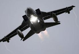 جنگنده Tornado بر فراز آلمان دو مخزن سوختش را از دست داد