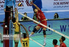 والیبال قهرمانی آسیا/ ایران ۲ – چین تایپه صفر