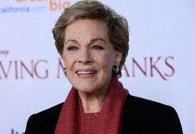 بنیاد فیلم آمریکا از «جولی اندروز» بازیگر و خواننده ۸۳ ساله انگلیسی ...