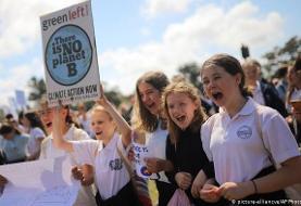 آغاز اعتصاب جهانی دانشآموزان در اعتراض به تغییرات آب و هوایی