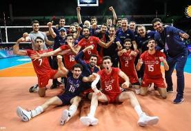 ایران فینالیست والیبال قهرمانی آسیا شد