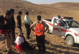 دختر گمشده در ارتفاعات نقنج پیدا شد