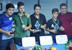 شایان جباری قهرمان ناین بال نوجوانان قهرمانی کشور شد
