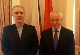 دیدار سفیر ایران در مینسک با دبیر دولت اتحاد