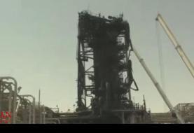 اولین تصاویر از تاسیسات نفتی خریص عربستان