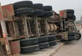 ۱۰ کشته در تصادف تریلی و مینی بوس در گلستان