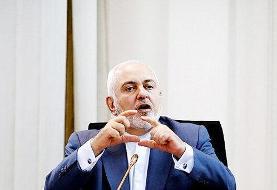 ظریف: حمله نظامی به ایران به «جنگی تمام عیار» منجر میشود