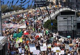 تظاهرات دانشآموزان استرالیایی در اعتراض به تغییرات اقلیمی