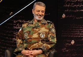 فرمانده کل ارتش: هر دشمنی یکی بزند، ما ۱۰ تا میزنیم