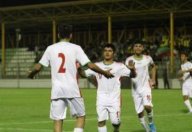 صدرنشینی ایران در مقدماتی فوتبال زیر ۱۶ سال آسیا