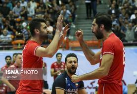 فینال والیبال قهرمانی آسیا/ ایران ۱ – استرالیا صفر