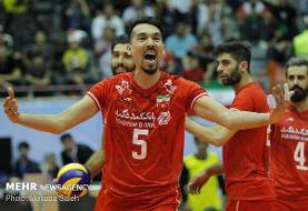 ایران ست دوم را هم از استرالیا برد