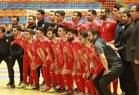 تیم ملی فوتسال به دنبال ثبت سیامین بازی بدون شکست