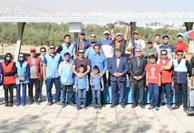 آقاجانی قهرمان مسابقات تک مرحلهای تیراندازی به اهداف پروازی شد