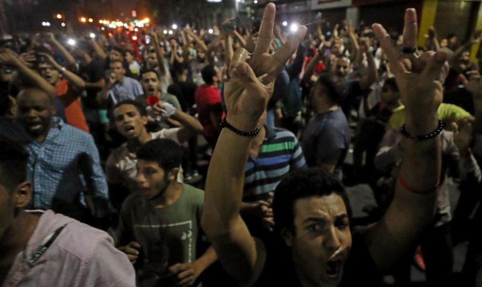 تظاهرات کمسابقه در شهرهای مختلف مصر علیه حکومت عبدالفتاح سیسی