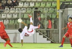 فوتبال زیر ۱۶ سال آسیا؛ ایران از سد فلسطین گذشت