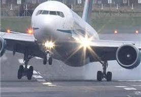 فرود اضطراری هواپیمای مشهد–شیراز/ پرواز مجدد مسافران با هواپیمای جایگزین