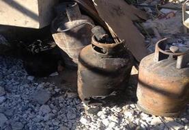 انفجار کپسول گاز ۱۰ نفر را راهی بیمارستان کرد
