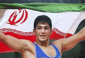 حسین یزدانی قبل از بازی فینال قهرمان جهان شد