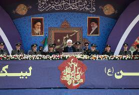 (تصاویر) مراسم رژه نیروهای مسلح با حضور رئیسجمهور