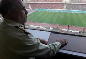 رئیس پلیس پایتخت: نقشه معاندان برای شهرآورد ۹۰ نقش برآب شد